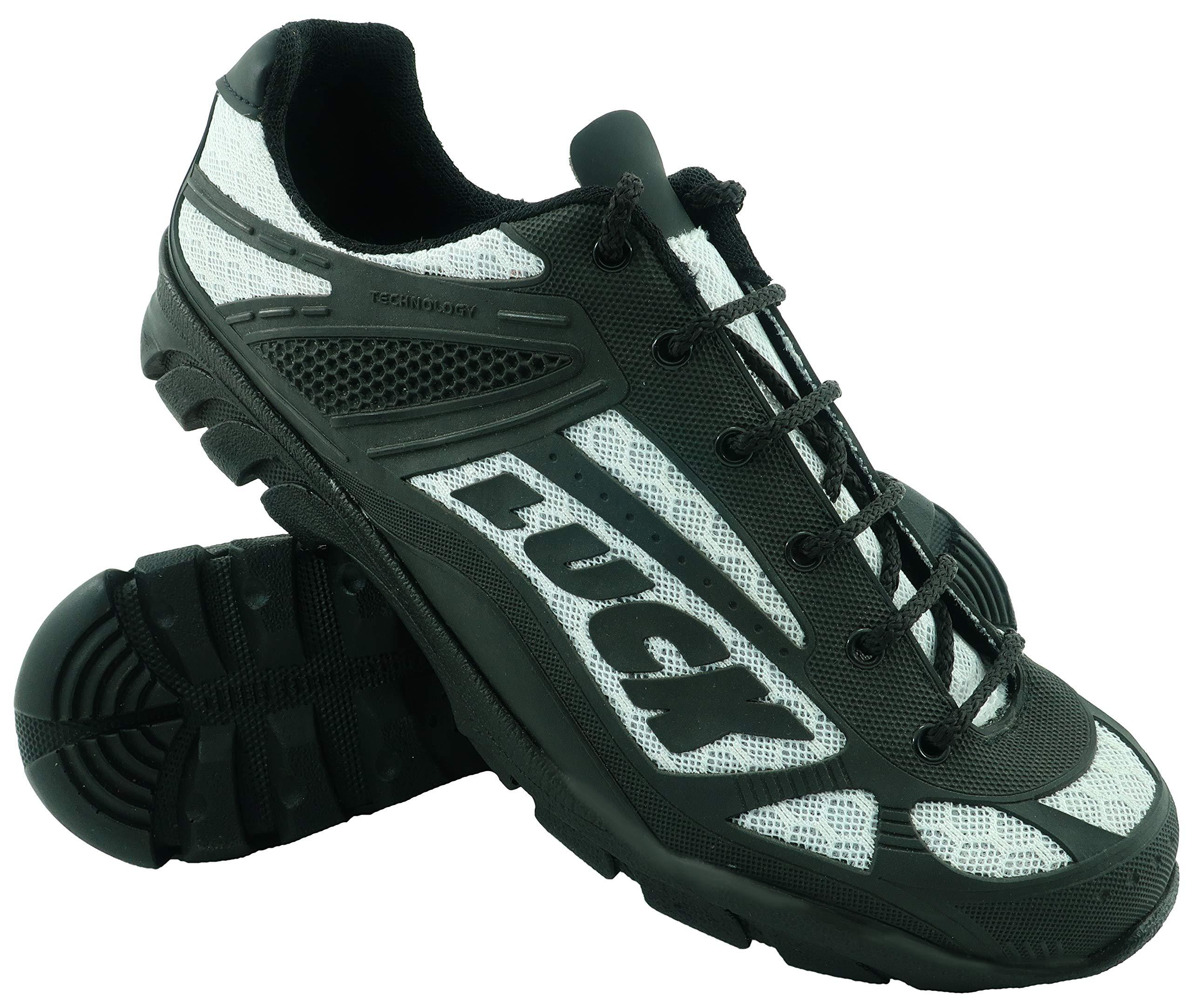 huge discount a90f1 92d4a Zapatillas de Ciclismo LUCK Predator 18.0,con Suela de EVA Ideal para Poder  adaptarte a