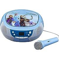 Disney ijskoningin 2 / Frozen 2 draagbare CD-speler met radio & microfoon voor kinderen - eKids FR-430V2