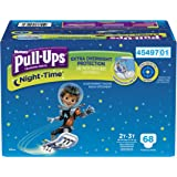 Pull-Ups Night-time Training Pants for Boys, 2T-3T, 68 Count (Packaging May Vary)