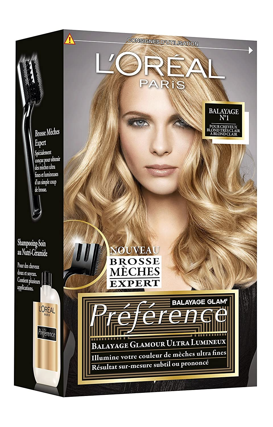 loreal balayage home kit reviews. Black Bedroom Furniture Sets. Home Design Ideas