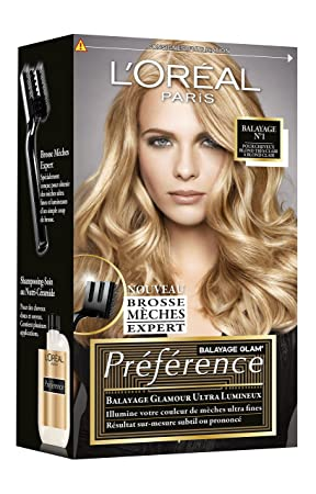 loreal coloration rcital prfrence balayage glam balayage n1 - Coloration Blond Clair Caramel