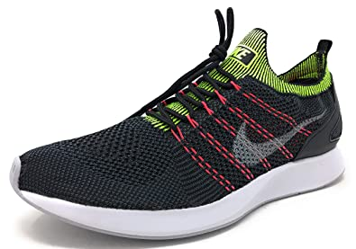 sneakers for cheap 5a399 aaf1f Nike Men s Air Zoom Mariah Flyknit Racer Running Shoe (8, Black Wolf Grey