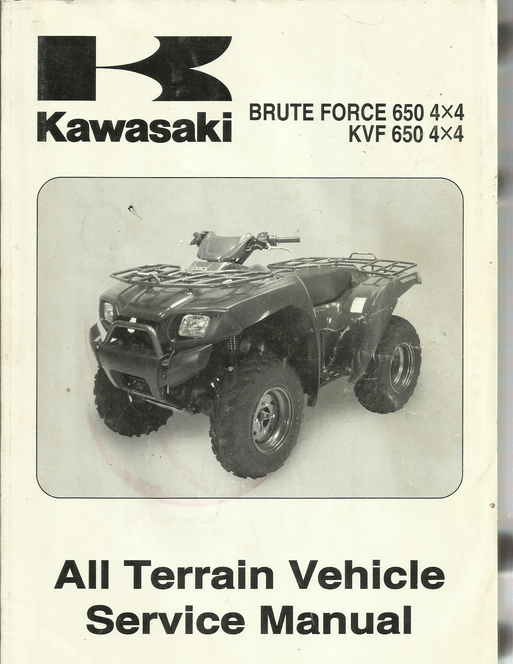 Kawasaki Brute Force 650 4x4 Kvf 650 4x4 All Terrain