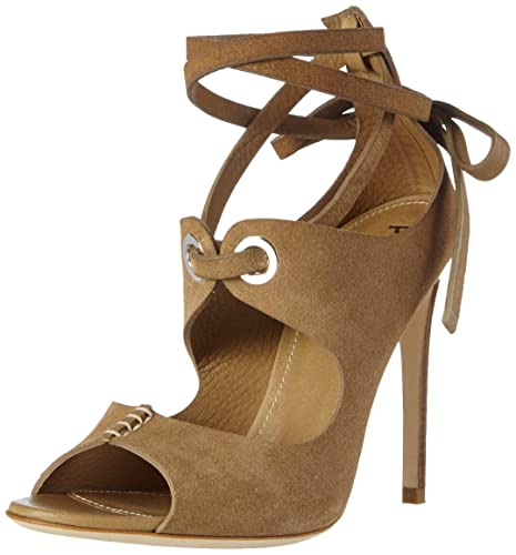 San.lod.lo Pk21/105 Castoro Coconut, Womens Open Toe Sandals Pollini