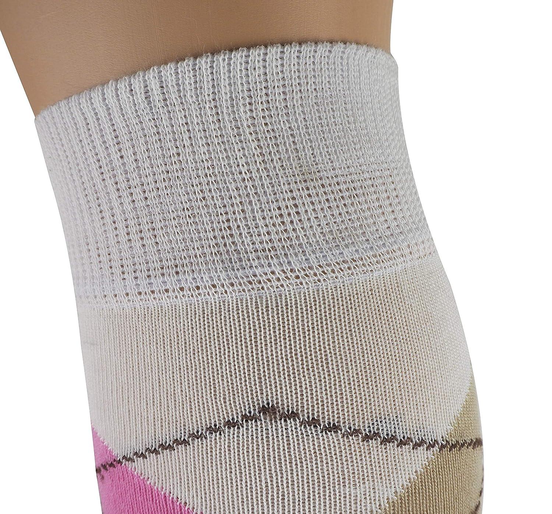 MySocks Unisex Kniehohe Argyle Socken B00CQ4M16E Socken Zart Zart Zart cd53c2