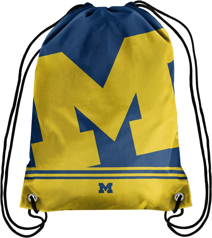 FOCO Big Logo Drawstring Backpack– Limited Edition Bag – NCAA College Gear