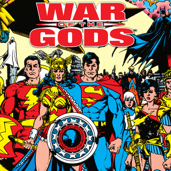 Book cover from The War of the Gods (1991) (Issues) (4 Book Series) by George Perez
