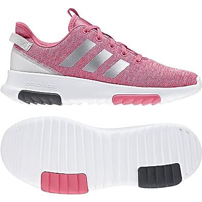 8e587d7a810ff5 adidas Mädchen Cloudfoam Racer TR K Laufschuhe Pink(Reapnk Silvmt Ftwwht) 40