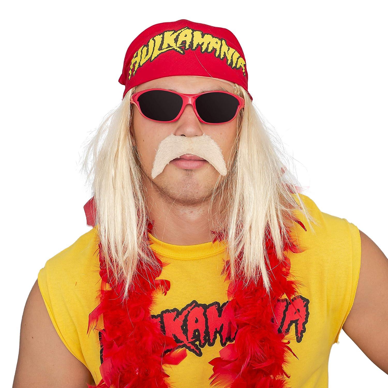 Hulk Hogan Hulkamania Complete Costume Set: Amazon.ca