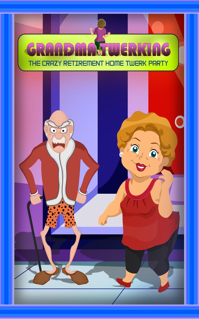 Grandma Twerking : The Crazy Retirement Home Twerk Party - Gold Edition