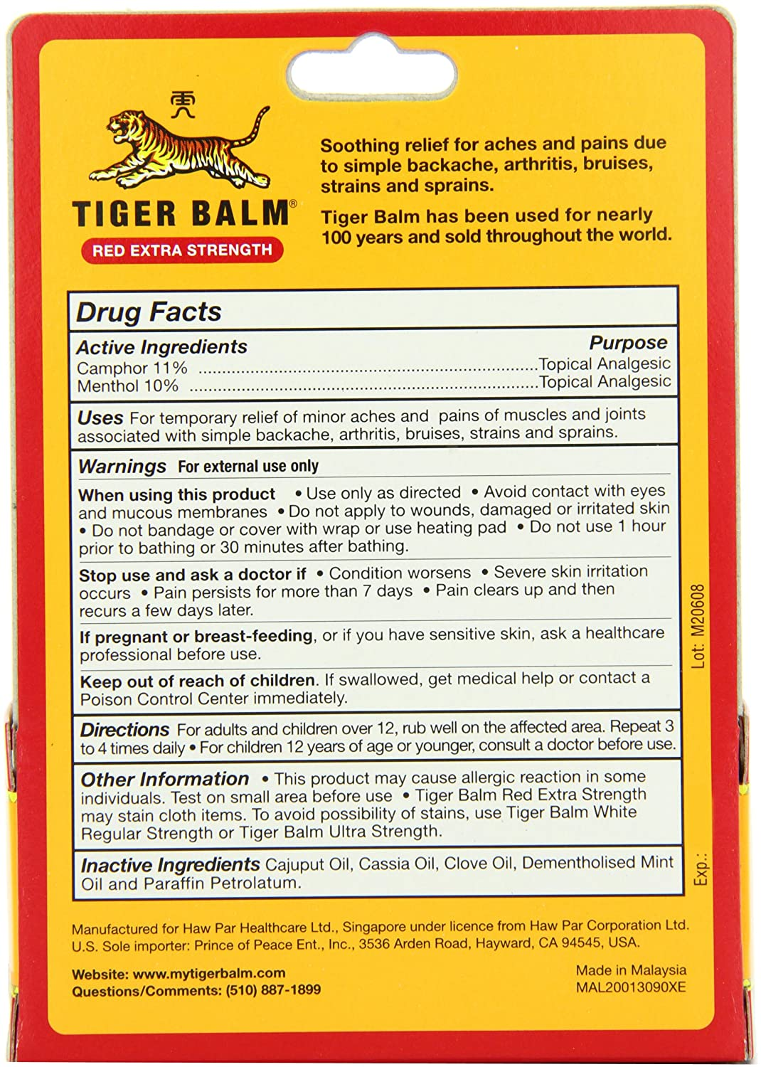 can you use tiger balm if pregnant