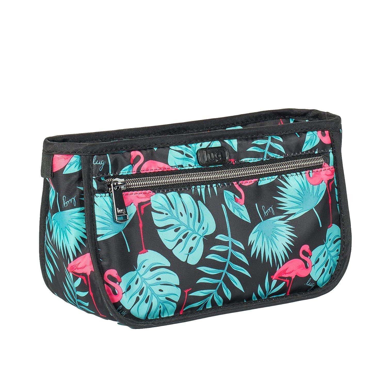 Lug Parasail Cosmetic Case Flamingo Black