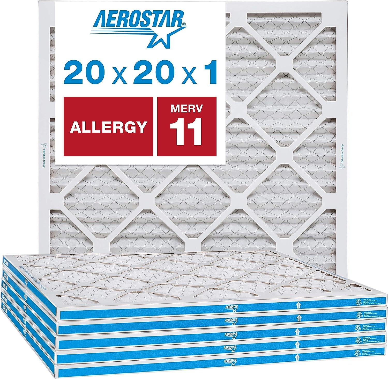 Merv 11/ AC et four de filtre /à air en Aerostar 2,5/cm lot de 6