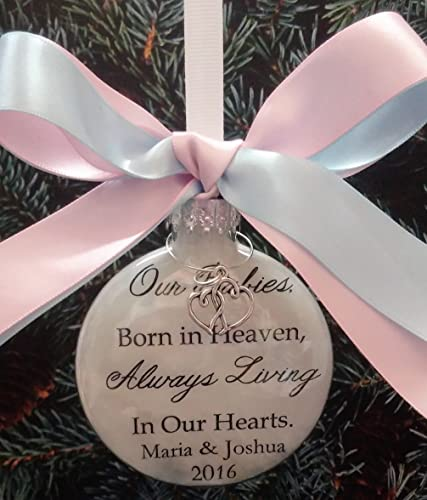 Image Unavailable - Amazon.com: Miscarriage Gift In Memory Christmas Ornament Keepsake