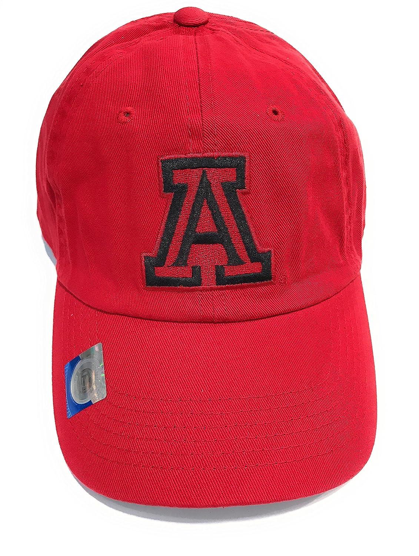122c3ba506c65 Captivating Headwear University of Arizona - RED - Knit Hat Cap at Amazon  Men s Clothing store