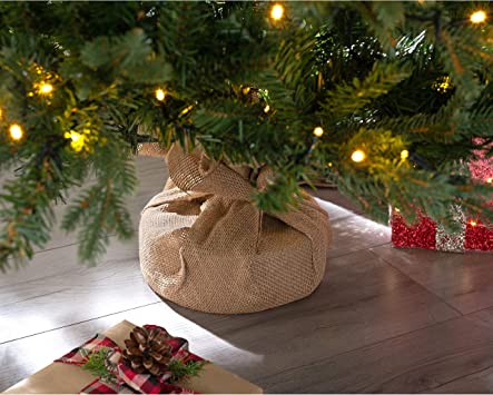 5 feet//1.5m WeRChristmas Norway Spruce Potted Christmas Tree with 190 Chasing Warm LED Lights Multi-Colour