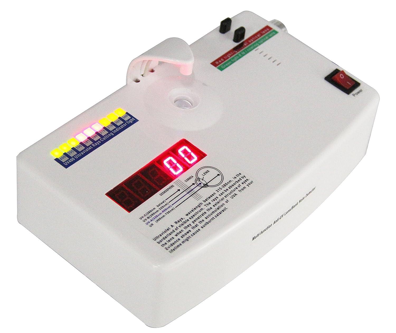 Optical Lens Anti-radiation Ultraviolet Ray UV Tester Detector Glasses Equip Measurer CE approved - - Amazon.com