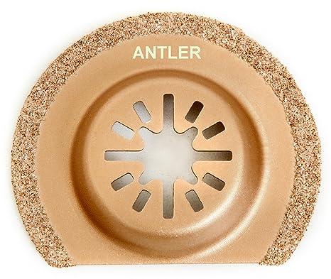 Antler AB63CD - Cuchilla de carburo (63 mm, multiherramienta oscilante, Bosch Makita,