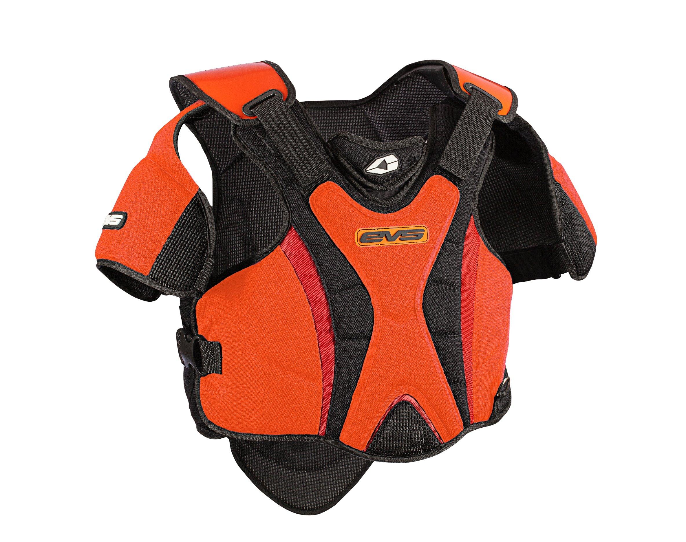 EVS Sports SV1R Race Ready Protective Snow Vest (Black/Orange, Medium/Large) by EVS Sports