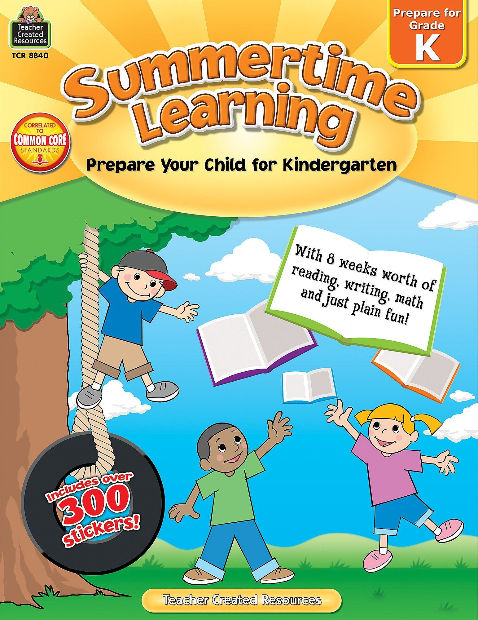 Summertime Learning: Prepare Your Child for Kindergarten: Erica ...
