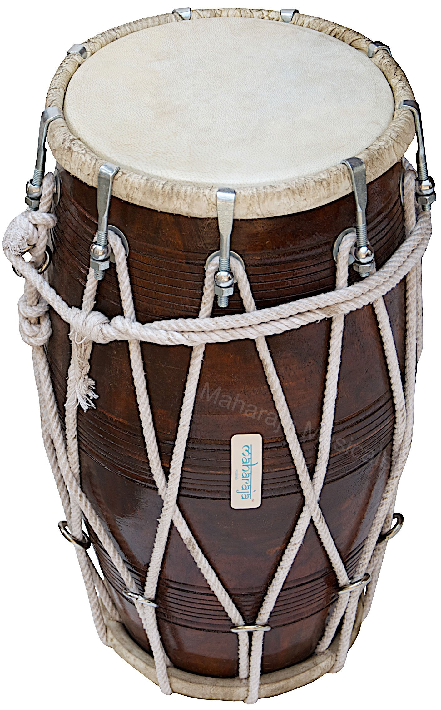 Special Dholak Drum by Maharaja Musicals, Professional Quality, Sheesham Wood, Padded Bag, Spanner, Dholki Musicals Instrument (PDI-BBC) by Maharaja Musicals (Image #7)