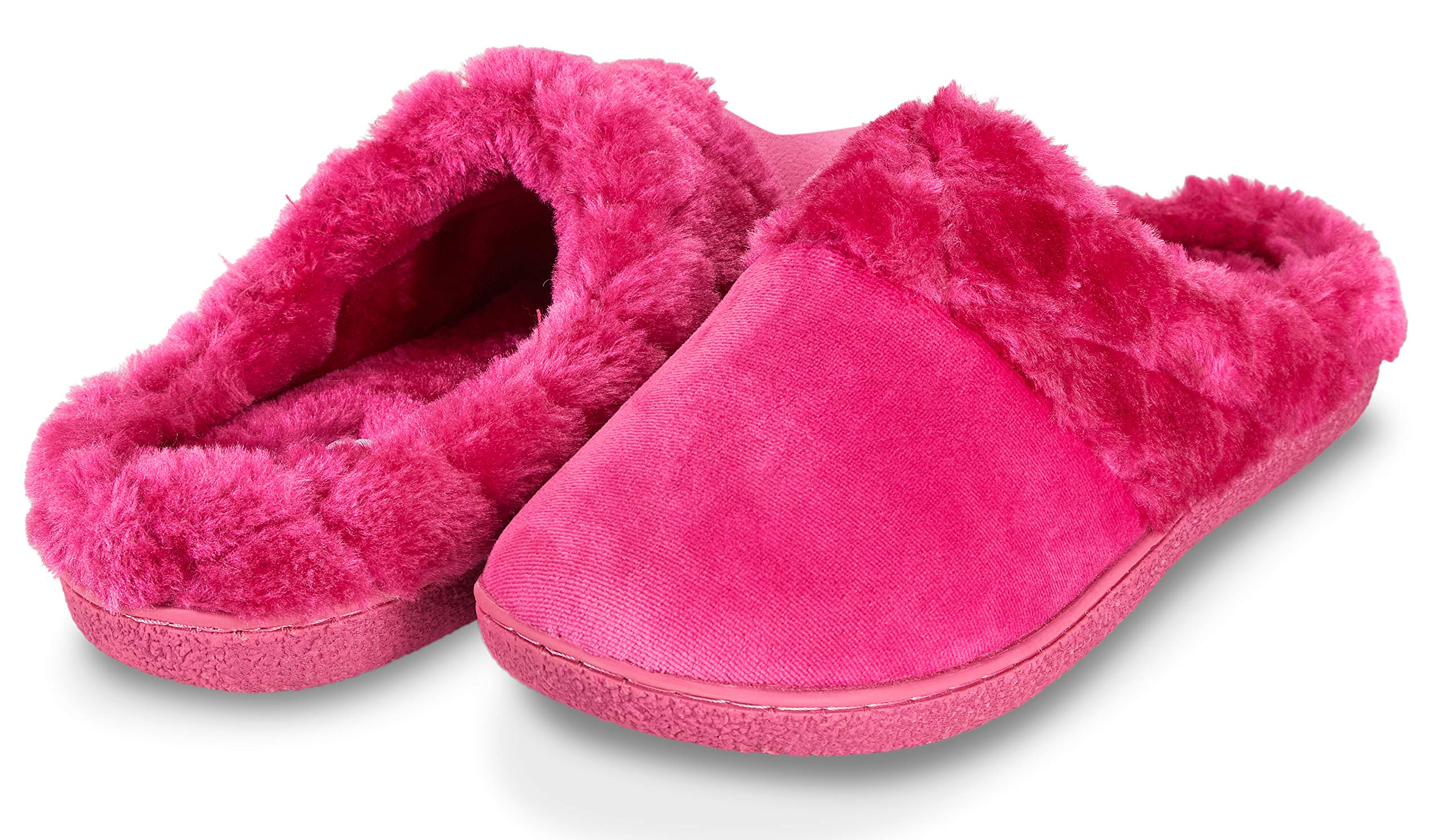 441d0a62560 Floopi Women s Memory Foam Slippers Deluxe Clog Scuff Mule House Slip-Ons  for Indoor   Outdoor Use
