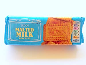 Tesco Malted Milk Biscuits 200g (Pack of 6)