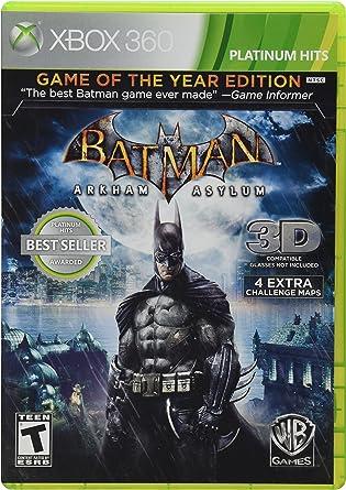 Warner Bros Batman: Arkham Asylum, Xbox 360 Xbox 360 vídeo - Juego ...