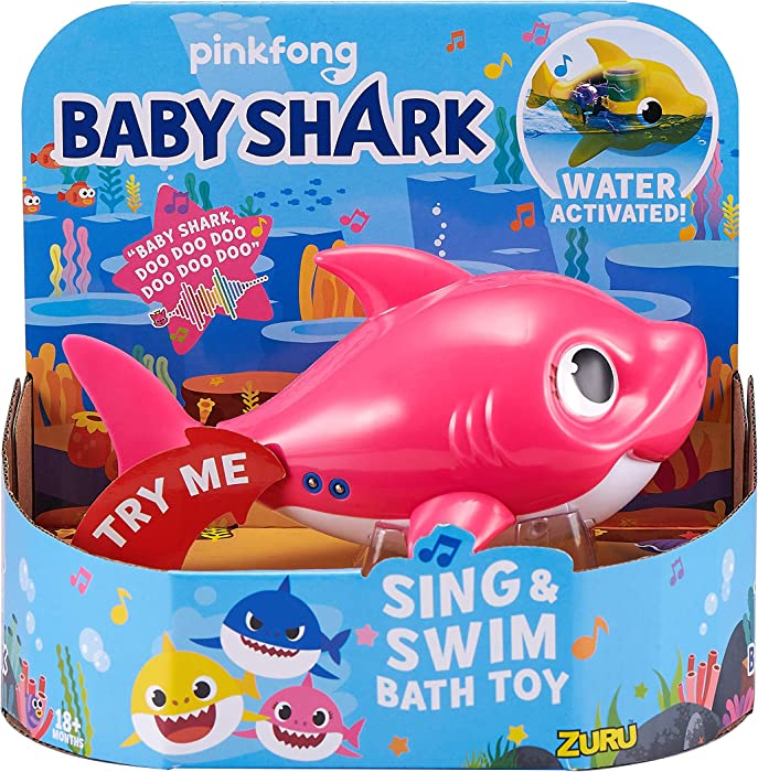 Top 9 Baby Shark Bathtub Toy