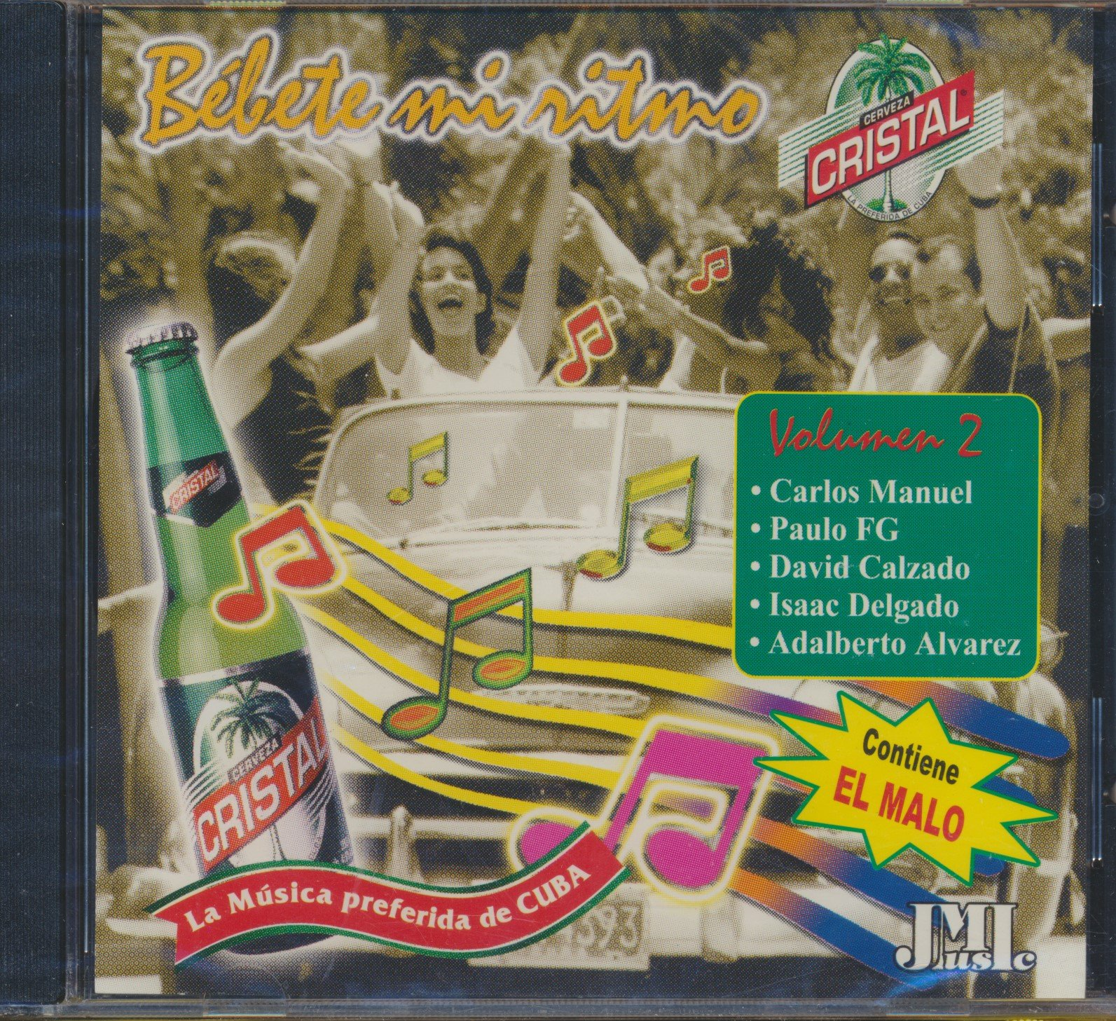 Bebete Mi Ritmo La Musica Preferida de Cuba (2001 MUSIC CD) pdf epub