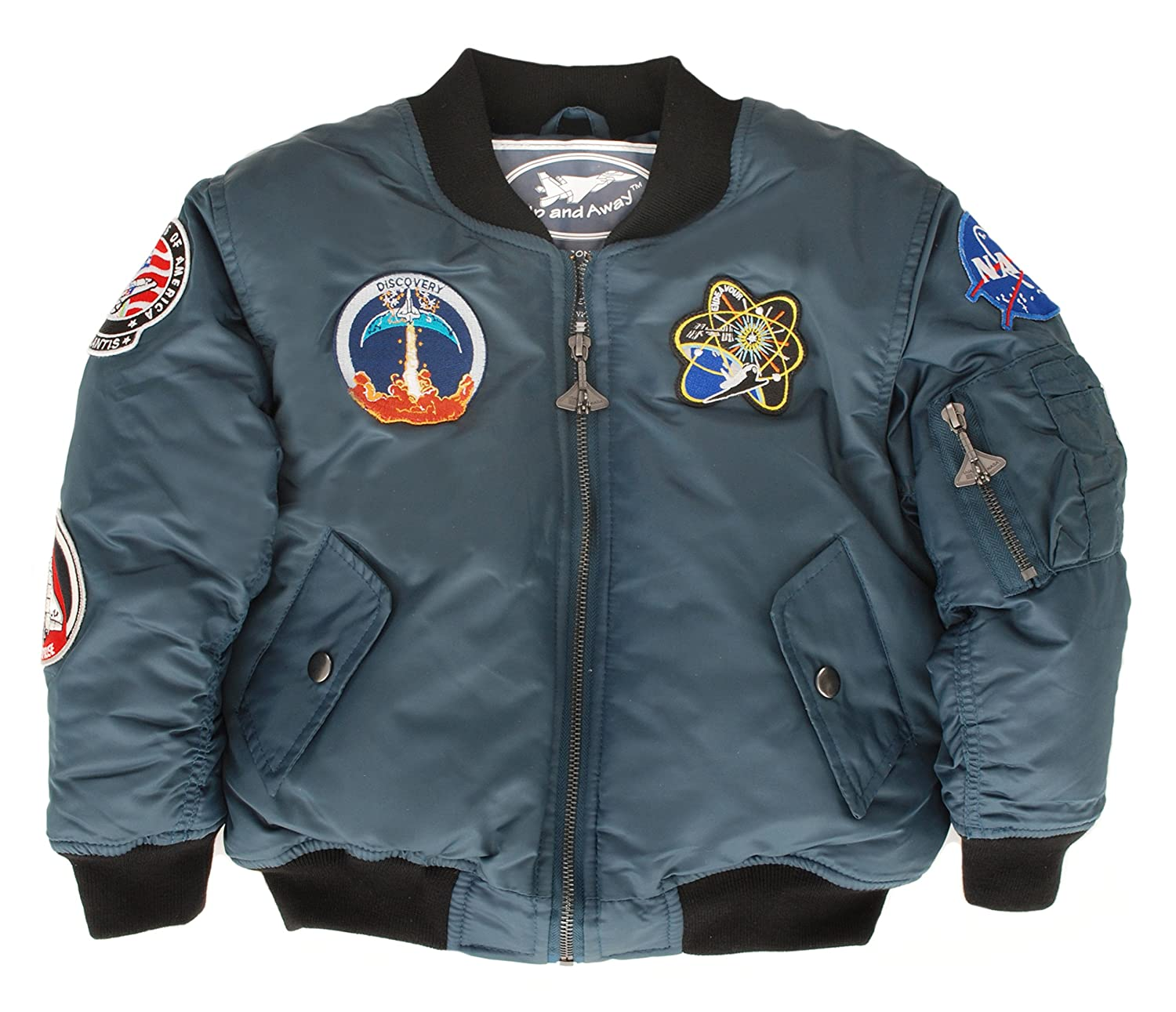 Up and Away Boys' Space Shuttle Jacket