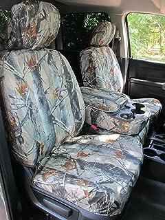 Driver Side Bottom Leather Seat Cover Gray 2011 Dodge Ram 3500 Laramie MegaCab