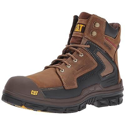 Amazon.com   Caterpillar Men's Chassis Waterproof Nano Toe/Dark Beige Industrial and Construction Shoe   Industrial & Construction Boots