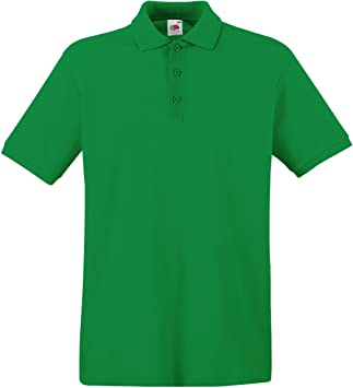 Fruit of the Loom - Polo para Hombre ss035 m, Hombre, Kelly Green ...