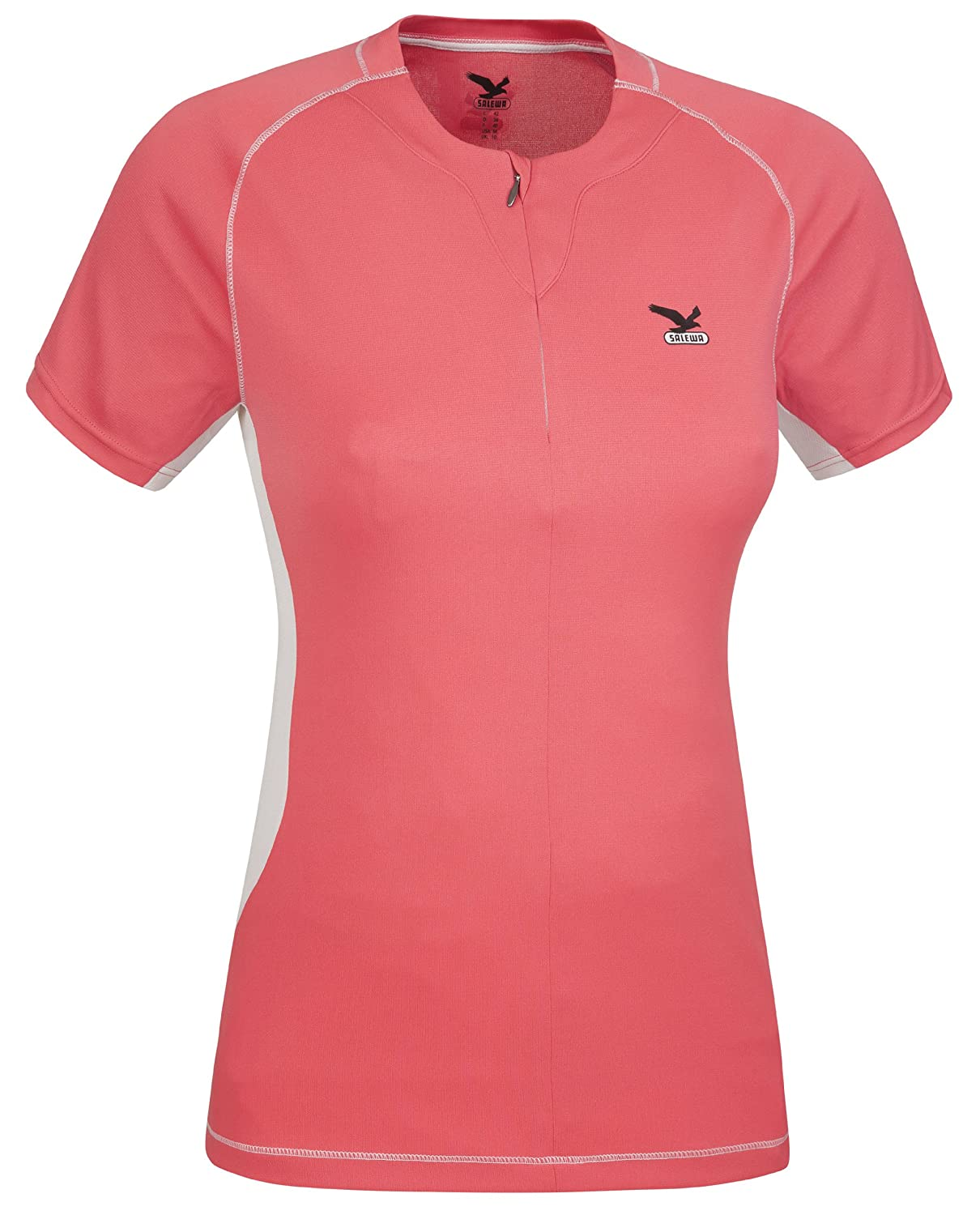 SALEWA T-Shirt Galiant 2.0 Dry W Short Sleeve Tee - Camiseta, color rosa, talla 2XL
