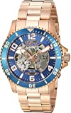 Invicta Men's 'Objet D Art' Automatic Stainless Steel Casual Watch, Color:Rose Gold-Toned (Model: 22605)