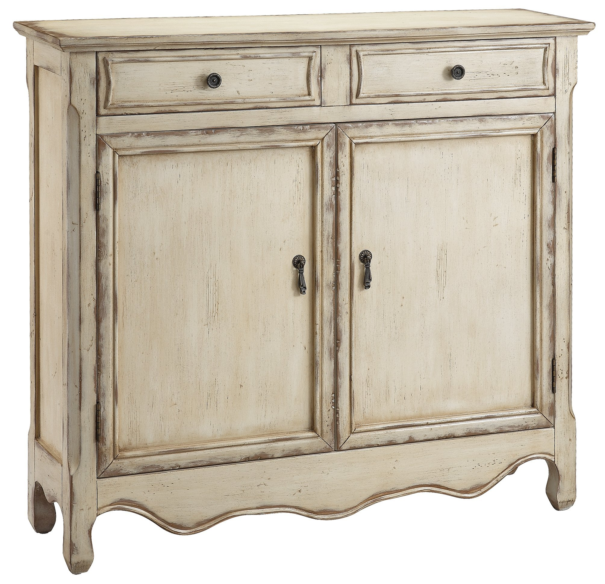 Stein World Furniture  Heidi Cupboard, Vintage Cream by Stein World Furniture