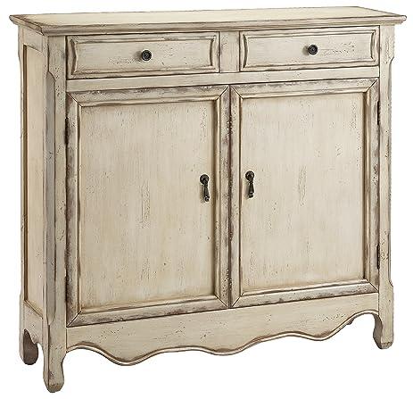 High Quality Stein World Furniture Heidi Cupboard, Vintage Cream