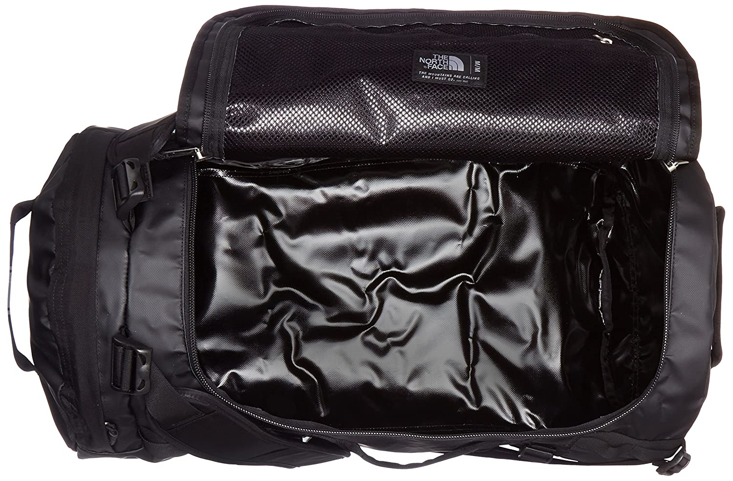 différemment 72367 b2155 The North Face Base Camp Duffel-Medium, TNF Black,