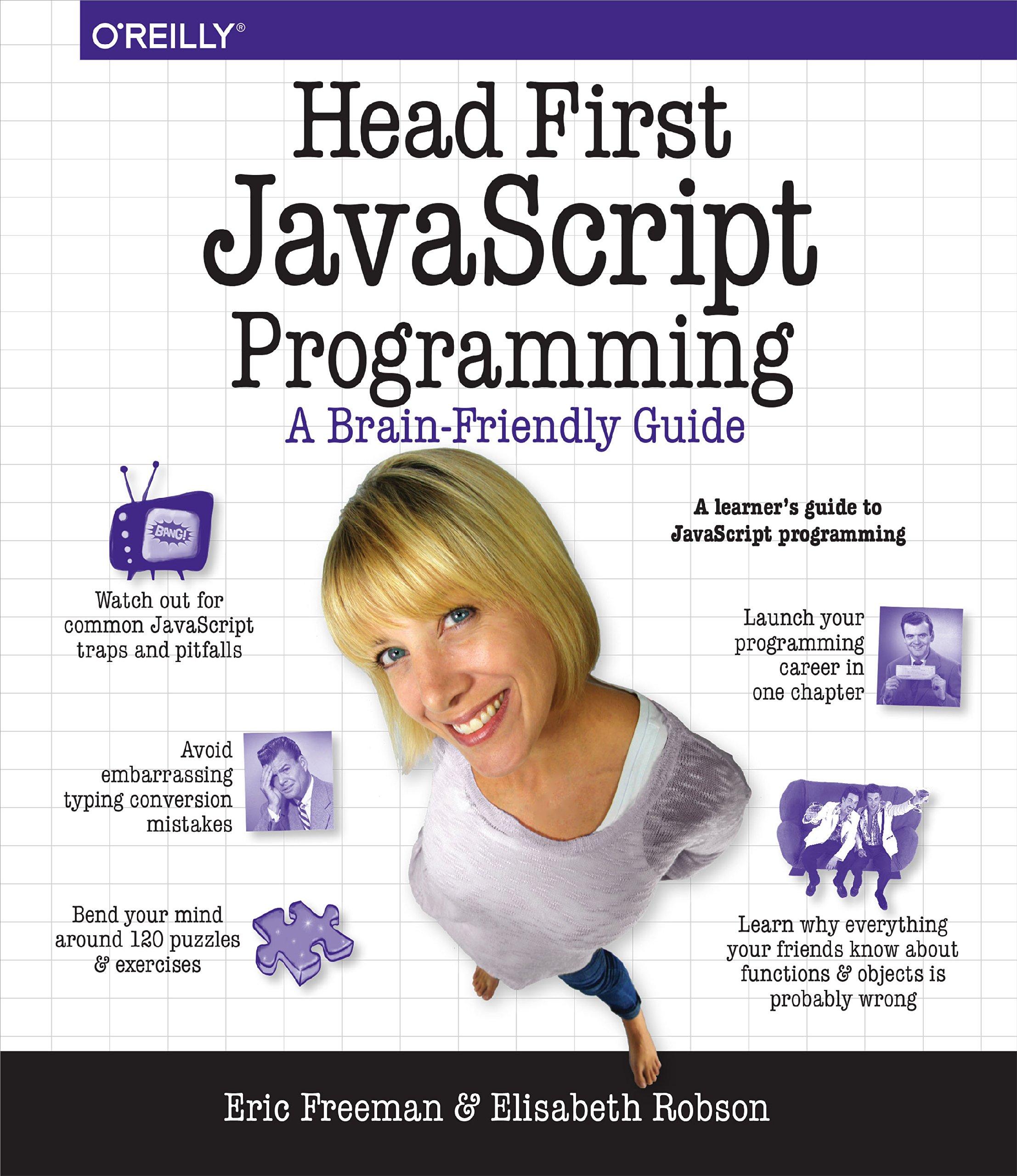 Head First JavaScript Programming ISBN-13 9781449340131