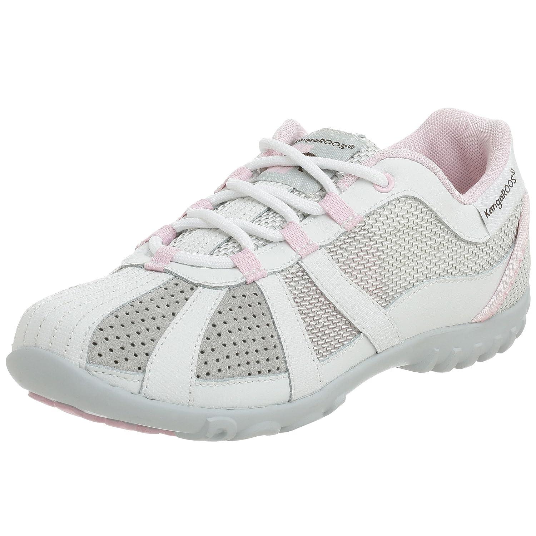 save off df2f9 052f5 KangaROOS Women's Lucy Sneakers, White/Ballerina, 11 M: Buy ...