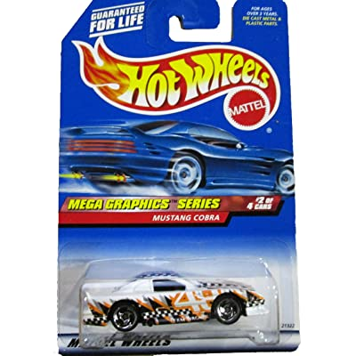 Hot Wheels 1998 974 Mustang Cobra Team Wagner Mega Graphics Series 2 Of 4 1:64 Scale Die-Cast Collectible Car: Toys & Games