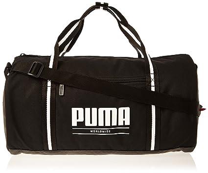 PUMA Wmn Core Base Barrel Bag Bolsa Deporte, Mujer