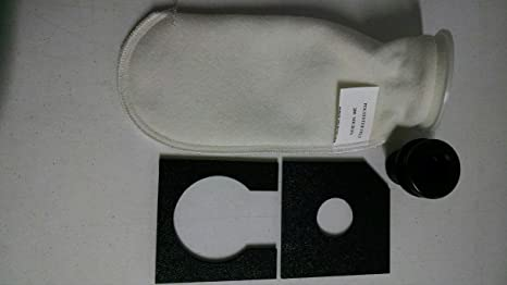 "aquarium refugium sump micron bag Modular Marine 4/"" filter sock silencer"