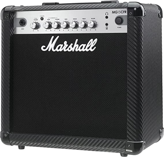 Marshall MG15CFR - Amplificador combo 15 w reverb mma: Amazon.es ...