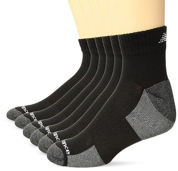 meilleure sélection b1b15 25f41 New Balance Men's Performance Training Ankle Socks-6 Pairs