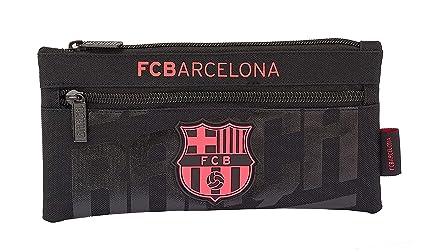 SAFTA - F.C. Barcelona Oficial Estuche Doble Cremallera ...