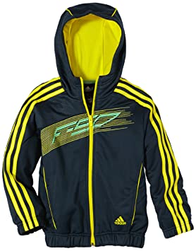 Veste adidas f50 noir jaune