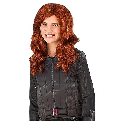 Rubie's Costume Captain America: Civil War Kid's Black Widow Wig: Toys & Games