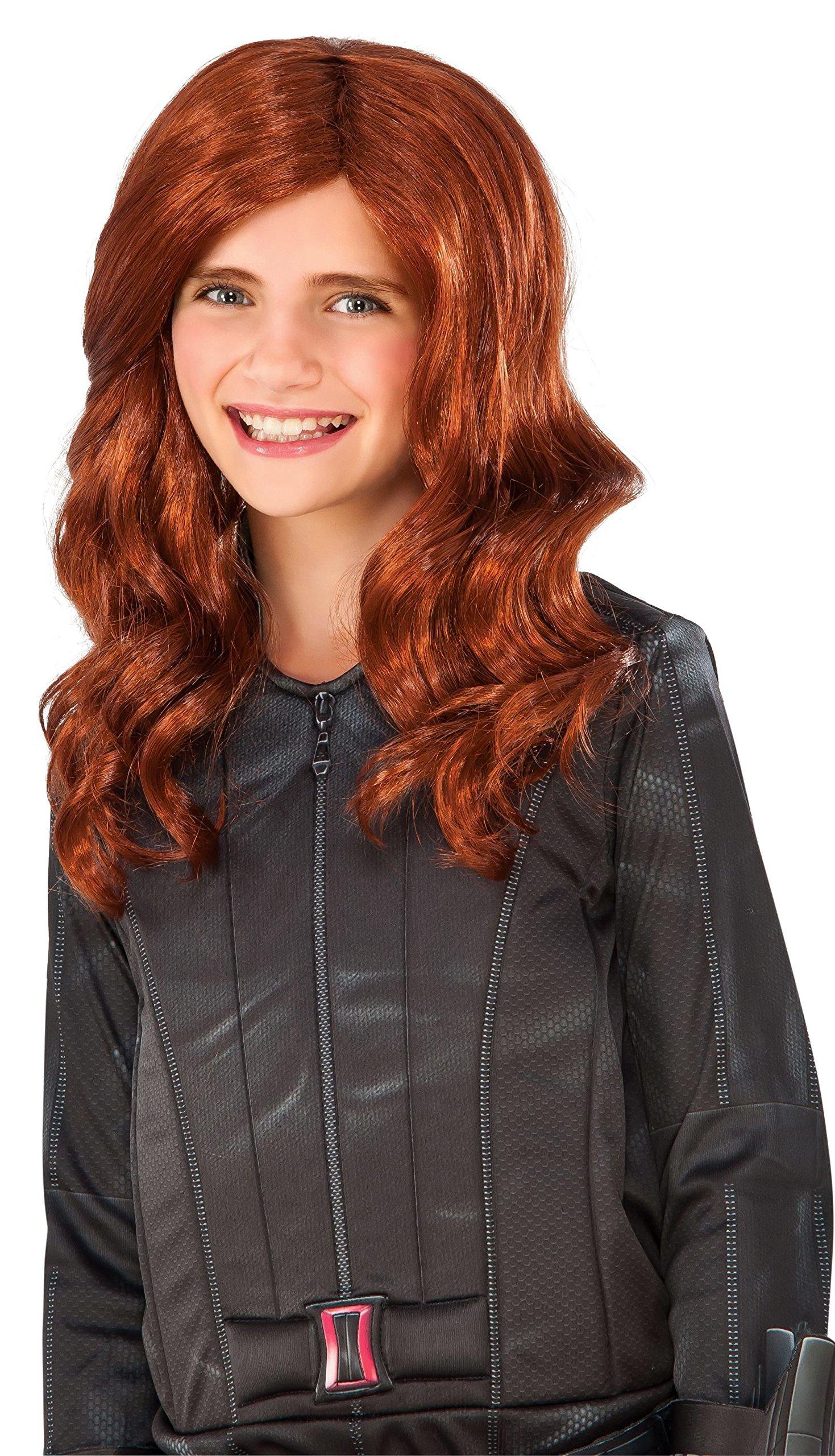 Rubie's Costume Captain America: Civil War Kid's Black Widow Wig by Rubie's